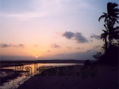 Sonnenaufgang auf der Insel Coco Loco