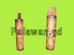 Tabakdosen aus Bambus