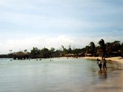 White Beach, Strand